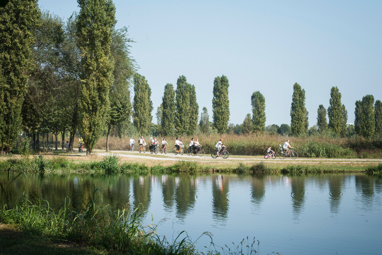 pedala fiume lambro lucente